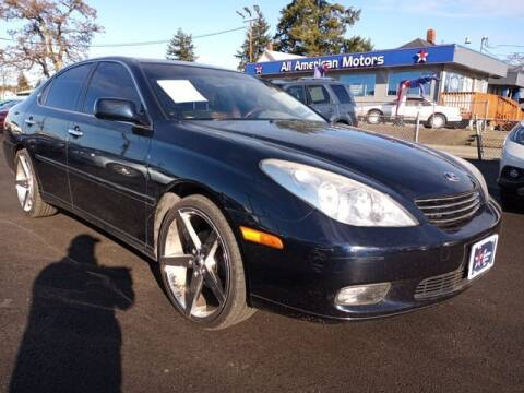 2004 Lexus ES 330 for sale at All American Motors in Tacoma WA