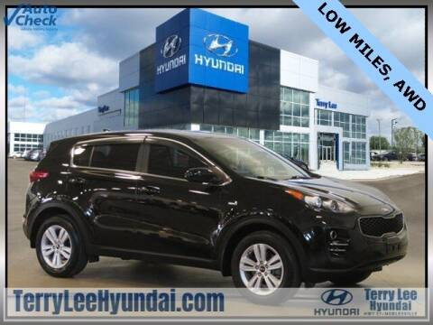 2018 Kia Sportage for sale at Terry Lee Hyundai in Noblesville IN