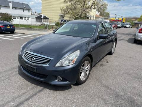 2013 Infiniti G37 Sedan for sale at Kapos Auto, Inc. in Ridgewood, Queens NY