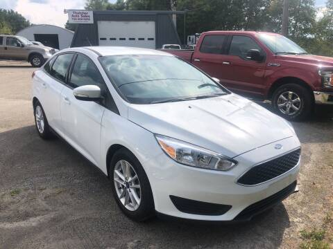 2016 Ford Focus for sale at THATCHER AUTO SALES in Export PA
