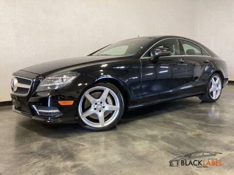 2012 Mercedes-Benz CLS for sale at BLACK LABEL AUTO FIRM in Riverside CA
