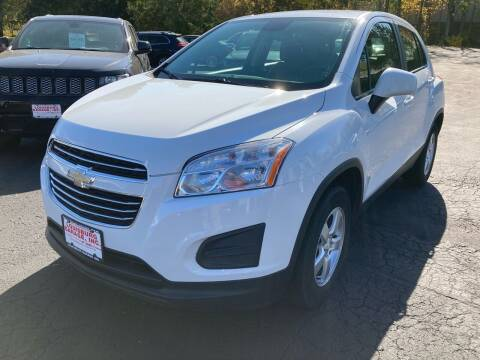 2016 Chevrolet Trax for sale at Louisburg Garage, Inc. in Cuba City WI
