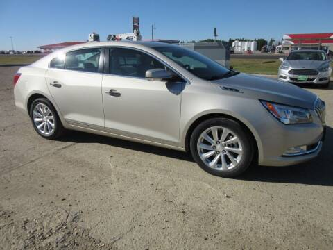 2014 Buick LaCrosse for sale at Nore's Auto & Trailer Sales - Vehicles in Kenmare ND