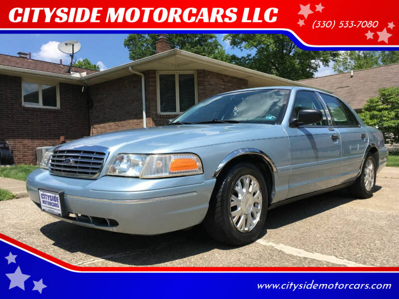 2004 Ford Crown Victoria for sale at CITYSIDE MOTORCARS LLC in Canfield OH