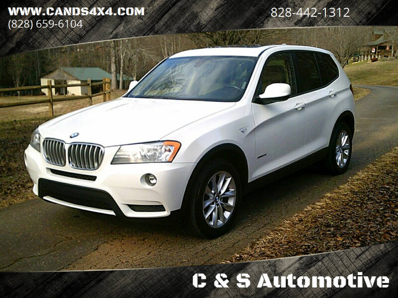 2014 BMW X3 for sale at C & S Automotive in Nebo NC
