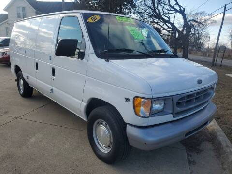 2000 Ford E-150 for sale at Kachar's Used Cars Inc in Monroe MI