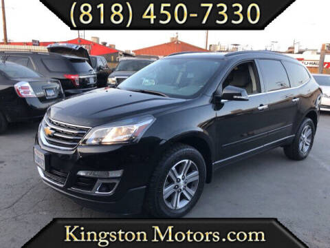 2015 Chevrolet Traverse for sale at Kingston Motors in North Hollywood CA