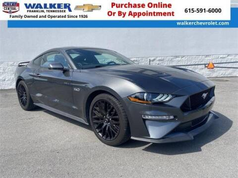 2019 Ford Mustang for sale at WALKER CHEVROLET in Franklin TN