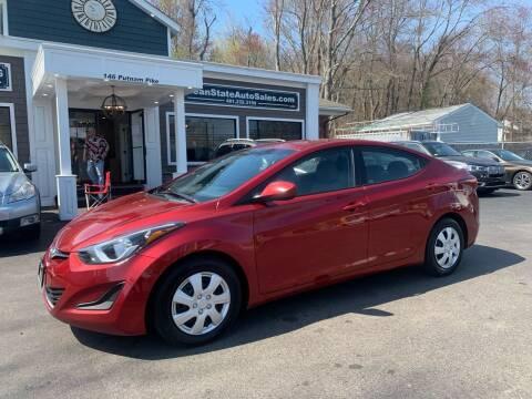 2016 Hyundai Elantra for sale at Ocean State Auto Sales in Johnston RI