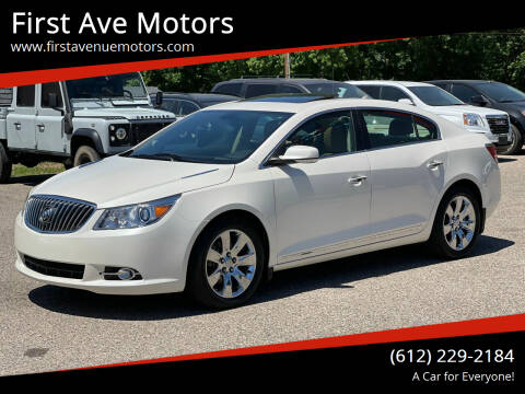 2013 Buick LaCrosse for sale at First Ave Motors in Shakopee MN