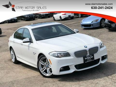 2011 BMW 5 Series for sale at Star Motor Sales in Downers Grove IL