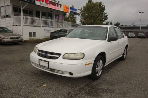 2000 Chevrolet Malibu for sale at Leavitt Auto Sales and Used Car City in Everett WA