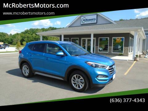 2017 Hyundai Tucson for sale at McRobertsMotors.com in Warrenton MO