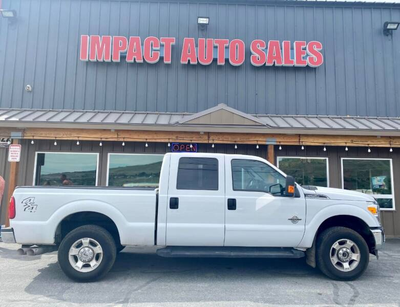 2016 Ford F-250 Super Duty for sale at Impact Auto Sales in Wenatchee WA