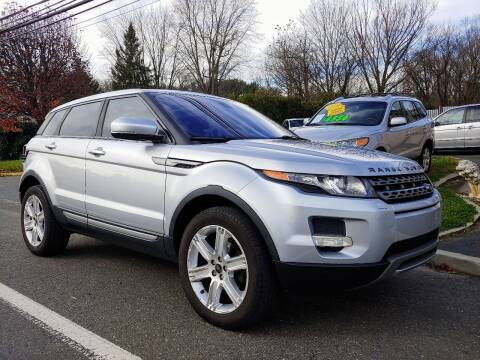 2013 Land Rover Range Rover Evoque for sale at Motor Pool Operations in Hainesport NJ