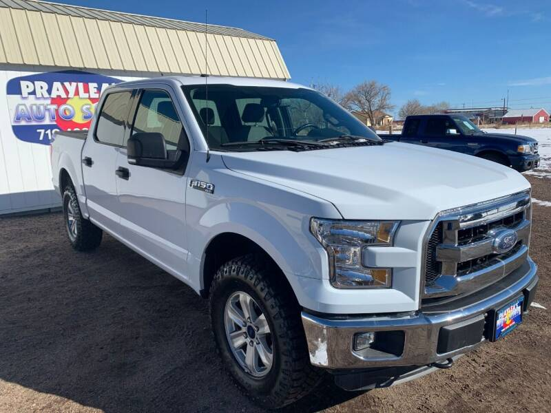 2016 Ford F-150 for sale at Praylea's Auto Sales in Peyton CO