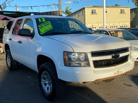 2012 Chevrolet Tahoe for sale at North County Auto - North Auto County 2 in Vista CA