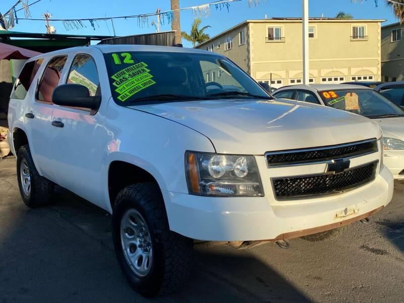 2012 Chevrolet Tahoe for sale at North County Auto - North Auto County 2 in Vista CA