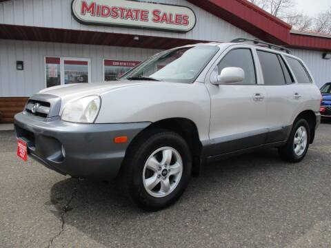 2004 Hyundai Santa Fe for sale at Midstate Sales in Foley MN