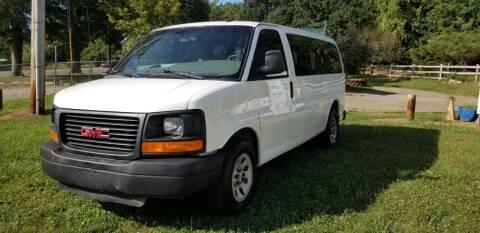 2012 GMC Savana Passenger for sale at NRP Autos in Cherryville NC