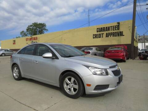 2011 Chevrolet Cruze for sale at City Auto Sales in Roseville MI