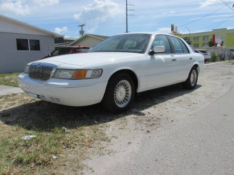 2001 Mercury Grand Marquis for sale at TROPICAL MOTOR CARS INC in Miami FL