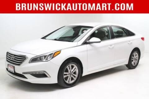 2015 Hyundai Sonata for sale at Brunswick Auto Mart in Brunswick OH