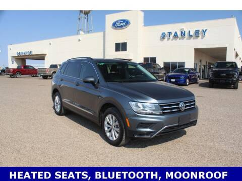 2018 Volkswagen Tiguan for sale at STANLEY FORD ANDREWS in Andrews TX