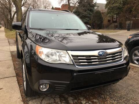 2010 Subaru Forester for sale at Jeff Auto Sales INC in Chicago IL