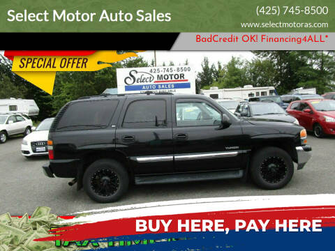 2005 GMC Yukon for sale at Select Motor Auto Sales in Lynnwood WA