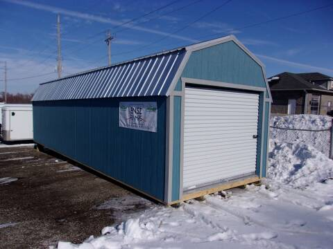 2020 PREMIER PORTABLE BUILDING LOFTED GARAGE for sale at RT Motors Inc in Atlantic IA