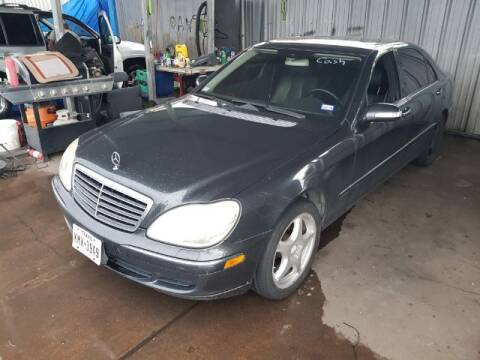 2004 Mercedes-Benz S-Class for sale at AUTO VALUE FINANCE INC in Stafford TX