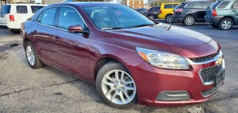 2015 Chevrolet Malibu for sale at Sinclair Auto Inc. in Pendleton IN