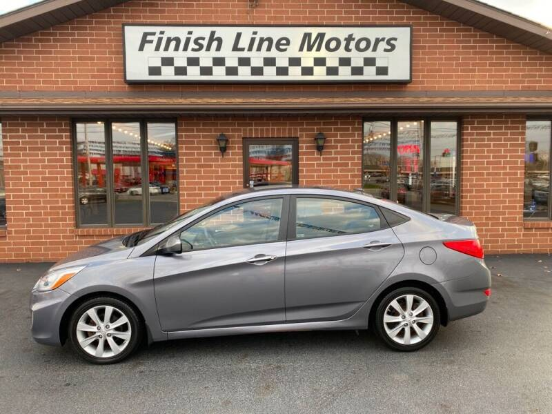 2014 Hyundai Accent for sale at FINISHLINE MOTORS in Canton OH