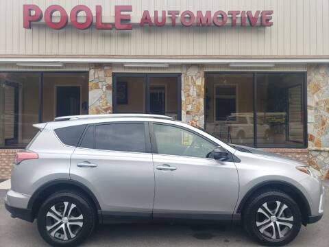 2018 Toyota RAV4 for sale at Poole Automotive in Laurinburg NC