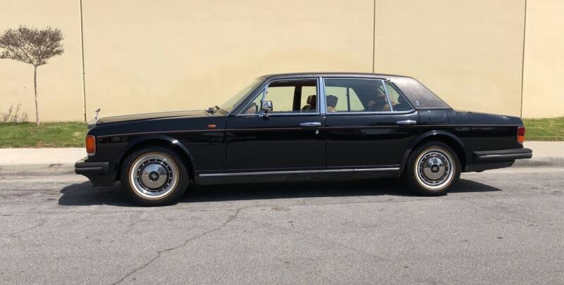 1994 Rolls-Royce Silver Spur III for sale at HIGH-LINE MOTOR SPORTS in Brea CA