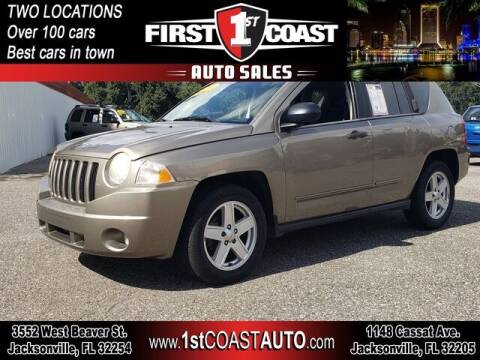 2008 Jeep Compass for sale at 1st Coast Auto -Cassat Avenue in Jacksonville FL
