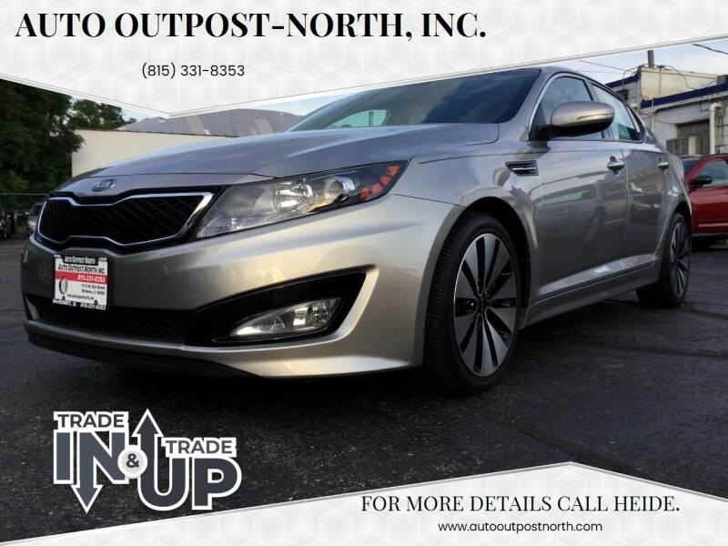 2012 Kia Optima for sale at Auto Outpost-North, Inc. in McHenry IL