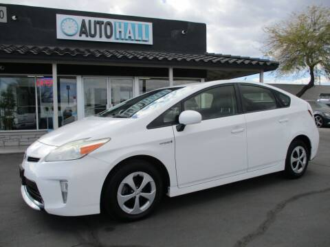 2013 Toyota Prius for sale at Auto Hall in Chandler AZ