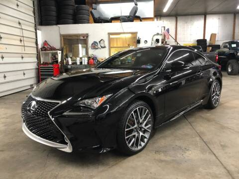 2015 Lexus RC 350 for sale at T James Motorsports in Gibsonia PA