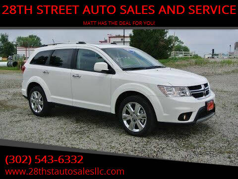 2014 Dodge Journey for sale at 28TH STREET AUTO SALES AND SERVICE in Wilmington DE