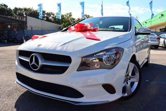 2018 Mercedes-Benz CLA for sale at OCEAN AUTO SALES in Miami FL