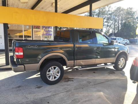 2004 Ford F-150 for sale at PIRATE AUTO SALES in Greenville NC