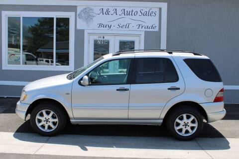2000 Mercedes-Benz M-Class for sale at A&A Auto Sales in Orem UT