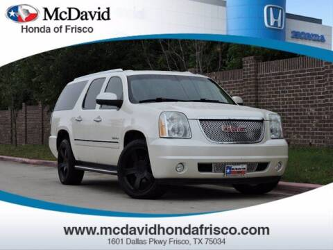 2010 GMC Yukon XL for sale at DAVID McDAVID HONDA OF IRVING in Irving TX