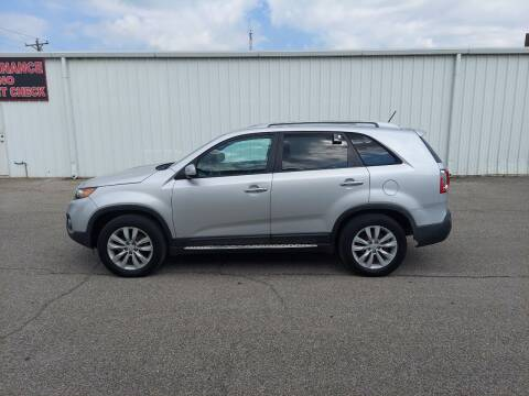 2011 Kia Sorento for sale at Longhorn Motors in Belton TX