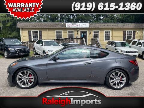 2013 Hyundai Genesis Coupe for sale at Raleigh Imports in Raleigh NC
