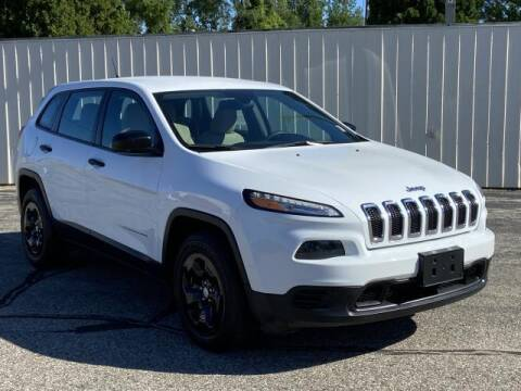 2018 Jeep Cherokee for sale at Miller Auto Sales in Saint Louis MI