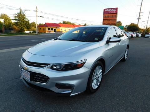 2018 Chevrolet Malibu for sale at Cars 4 Less in Manassas VA