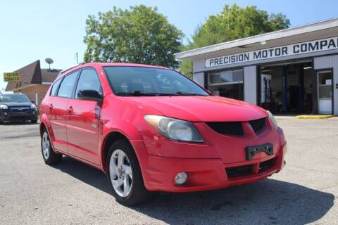 2003 Pontiac Vibe for sale at Precision Motor Company LLC in Cincinnati OH